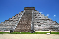 Piramide di Chichen Itza Kukulkan Immagine Stock Libera da Diritti