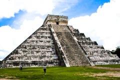 Piramide di Chichen Itza, Messico Fotografie Stock Libere da Diritti
