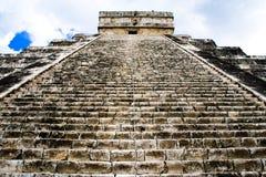 Piramide di Chichen Itza, Messico Immagini Stock