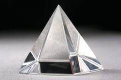 Piramide di cristallo Fotografia Stock Libera da Diritti