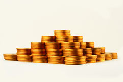 Piramide di finanze Immagine Stock
