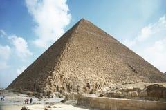 Piramide di Kefren Immagine Stock