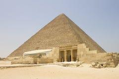Piramide di Khufu Fotografia Stock