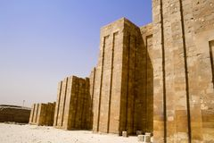 Piramide di punto di Djoser Immagine Stock Libera da Diritti