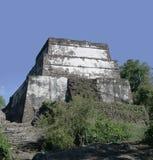 Piramide di Tepozteco del tempiale Fotografia Stock Libera da Diritti