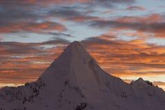Piramide do gelo Fotografia de Stock