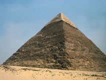 Piramide egiziana fotografia stock libera da diritti