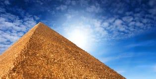 Piramide egiziana Fotografie Stock Libere da Diritti