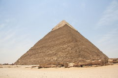 Piramide egiziano Fotografia Stock