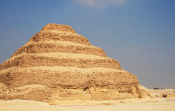 Piramide fatta un passo Immagini Stock