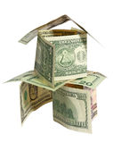 Piramide finanziaria Fotografia Stock Libera da Diritti