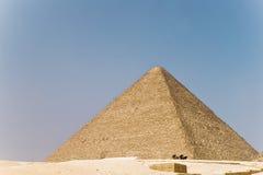 Piramide in Giza stock fotografie