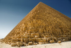 Piramide in Giza Stock Afbeeldingen