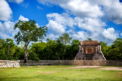 Piramide maya Chichen Itza immagini stock libere da diritti