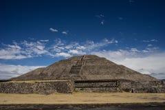 Piramide messicana antica Fotografia Stock Libera da Diritti