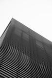 Piramide moderna della costruzione - mondo attraverso le barre Immagini Stock Libere da Diritti