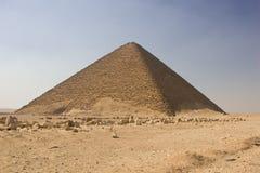 Piramide rossa Fotografia Stock Libera da Diritti