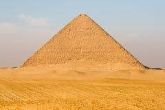 Piramide rossa nell'Egitto Fotografia Stock Libera da Diritti
