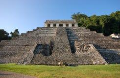Rovina-monumenti maya il Chiapas Messico di Palenque Fotografie Stock