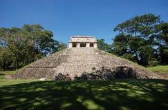 Rovina-monumenti maya il Chiapas Messico di Palenque Fotografie Stock Libere da Diritti
