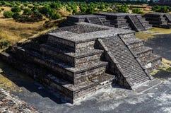 Piramide in Teotihuacan Fotografia Stock Libera da Diritti
