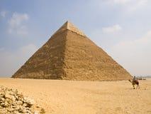 Piramide van Chefren Stock Fotografie