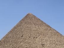 Piramide van Cheops. Stock Foto's