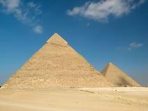 Piramide van Chephren Stock Foto