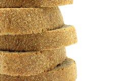 Piramide van de close-up van broodstukken Stock Afbeelding