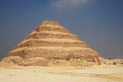 Piramide van Djoser Stock Fotografie
