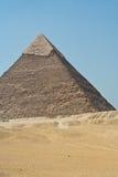 Piramide van Giza, Egypte Stock Foto