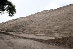 Piramide van Huaca Pucllana Stock Foto