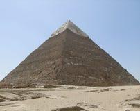 Piramide van Khafre in Egypte stock afbeeldingen