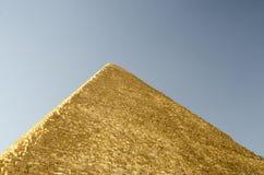 Piramide van Khufu, Piramide van Cheops in Egypte Stock Fotografie