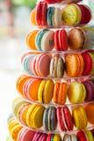 Piramide van koekjes royalty-vrije stock foto's