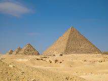 Piramide van Menkaure Royalty-vrije Stock Afbeelding