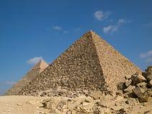 Piramide van Menkaure Royalty-vrije Stock Foto's