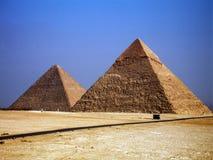Piramides stock foto's