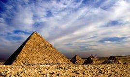 Piramides Royalty-vrije Stock Fotografie