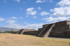 Piramides de Teotihuacan, Μεξικό Στοκ Εικόνες