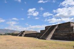 Piramides DE Teotihuacan, Mexico Stock Afbeeldingen