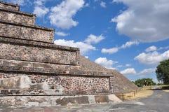 Piramides DE Teotihuacan, Mexico Royalty-vrije Stock Foto
