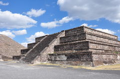 Piramides de Teotihuacan, Mexico royalty free stock photo