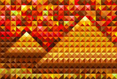 Piramides del oro ilustración del vector