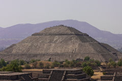 Piramides di Teotihuacan Immagini Stock Libere da Diritti