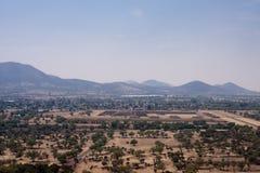 Piramides di Teotihuacan Immagine Stock Libera da Diritti