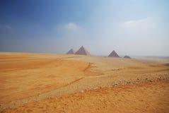 Piramides van Giza Royalty-vrije Stock Fotografie
