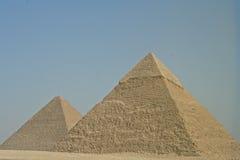 Piramides van Giza Royalty-vrije Stock Afbeelding