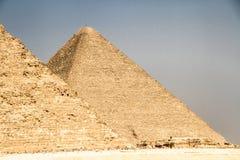 Piramides van Kaïro, Egypte royalty-vrije stock fotografie