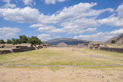 Piramides van Teotihuacan, Mexico Royalty-vrije Stock Afbeelding